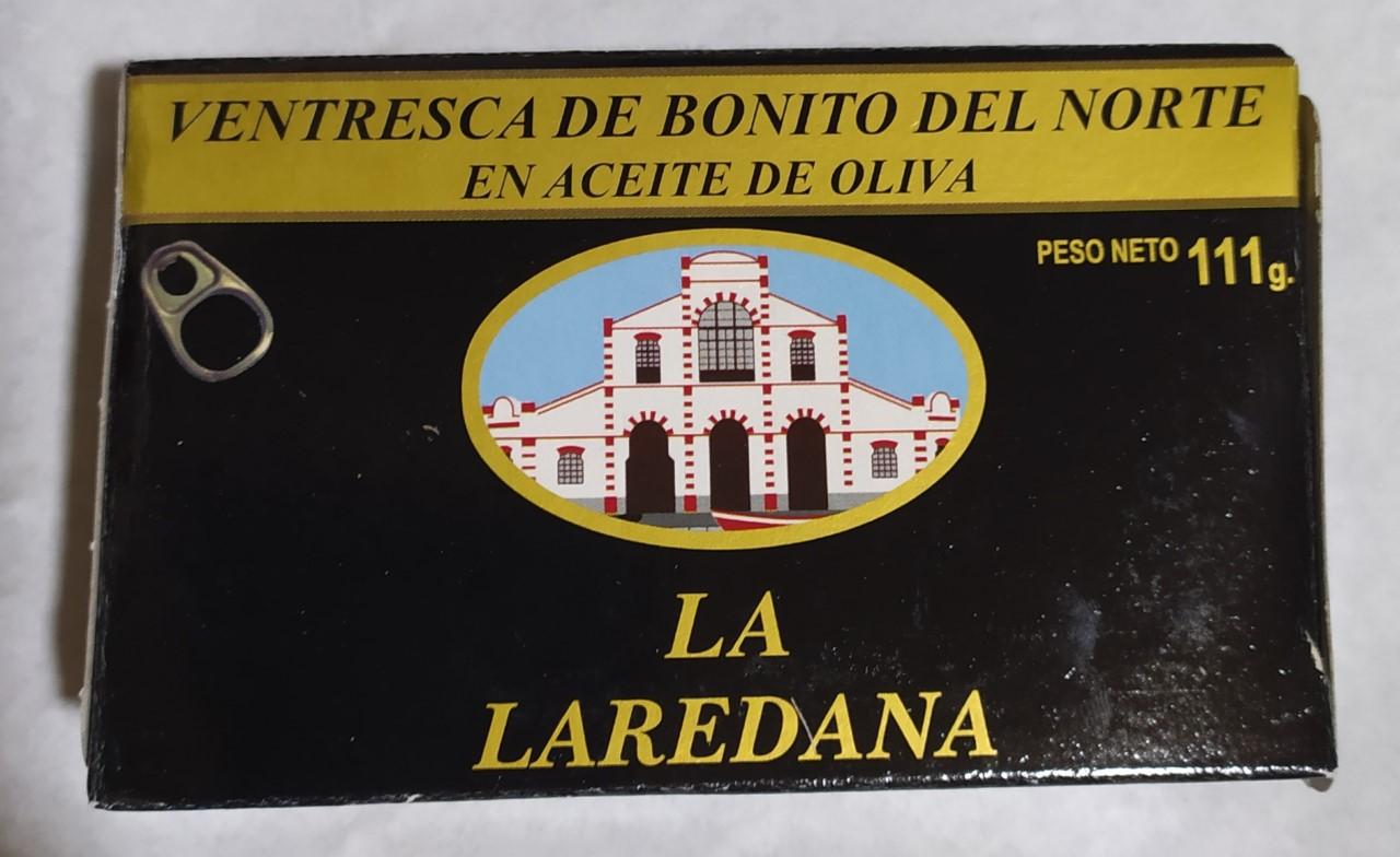 Ventresca de Bonito del Norte La Laredana 111g Lata