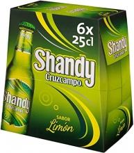 Shandy Cruzcampo 25cl 4 Pack de 6 Unidades