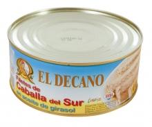 Filetes de caballa EL DECANO, lata  950gr