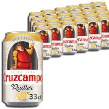 Cruzcampo Radler Lata 33cl C/24